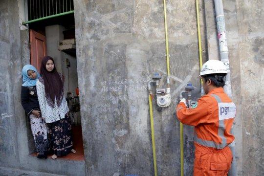 Berhembus gas di Pulau Garam