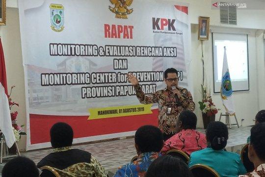 KPK tertibkan aset Pemprov Papua Barat