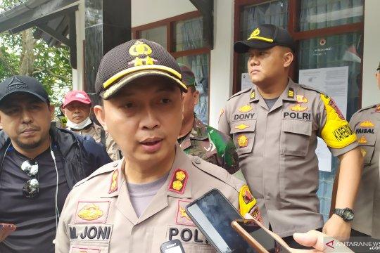 Polisi kembali tutup kawasan wisata Gunung Tangkuban Parahu
