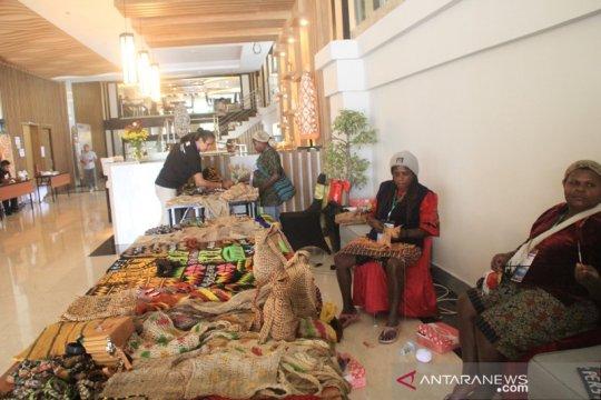 Hotel Horison libatkan mama-mama promosi noken dalam JIAC