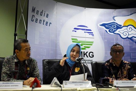 BMKG akhiri peringatan dini tsunami pascagempa M 7,4 di Banten