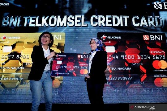 Peluncuran kartu kredit BNI-Telkomsel