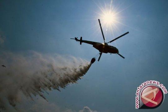 Tim pemadam api Gunung Arjuno ditarik karena akan kerahkan helikopter