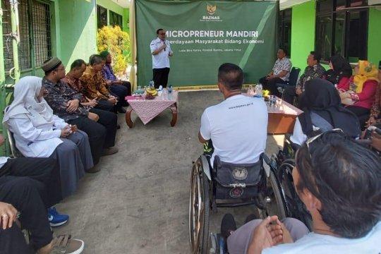 Baznas bantu kelompok usaha disabilitas di Jakarta