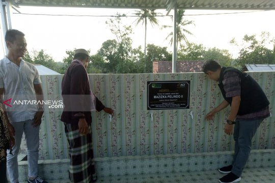ACT-Pelindo II hadiahkan sumur wakaf ke Desa Air Itam Palembang