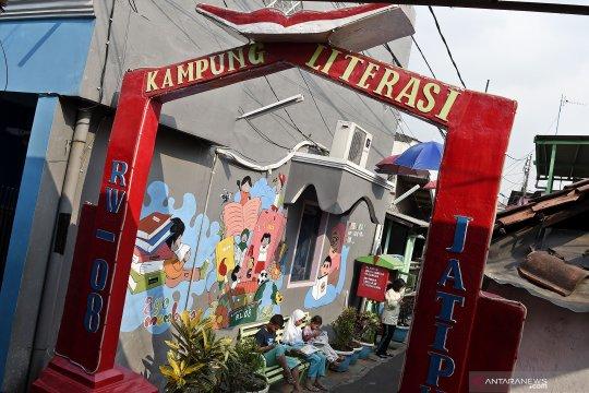 Kampanye gemar membaca Kampung Literasi Jatipulo