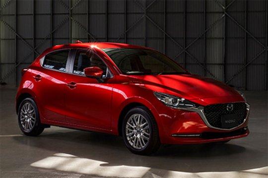 Laba bersih Mazda kuartal pertama jatuh hampir 75 persen