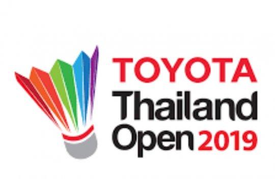 Ganda putri unggulan kedelapan Cina melaju ke final Thailand Open