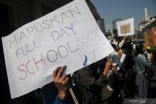 Aksi pelajar Bandung