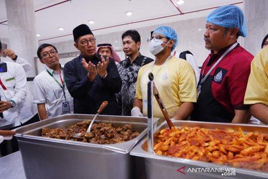 Delegasi Amirul Hajj tinjau katering penyedia konsumsi jamaah