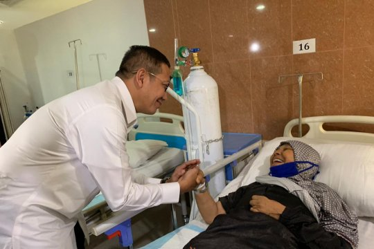 Amirul Hajj jenguk jamaah sakit di Klinik Kesehatan Haji Mekkah