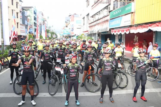 Jelajah sepeda nusantara 2019 singgahi Ambon