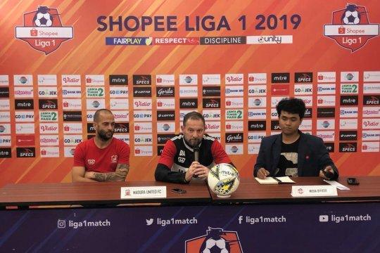 Madura United tak akan biarkan Bhayangkara FC raih poin di kandang