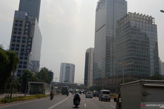 Cuaca berawan warnai Jakarta dari pagi hingga siang hari ini