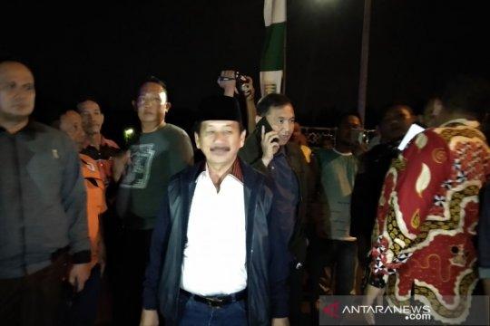 Wali Kota Bandarlampung tinjau langsung warga yang mengungsi