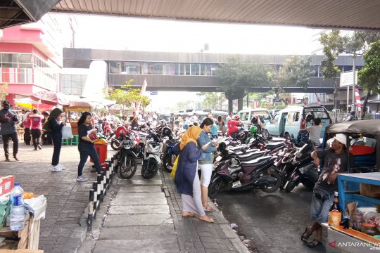 Fasilitas untuk pejalan kaki di Jakarta dinilai belum memadai