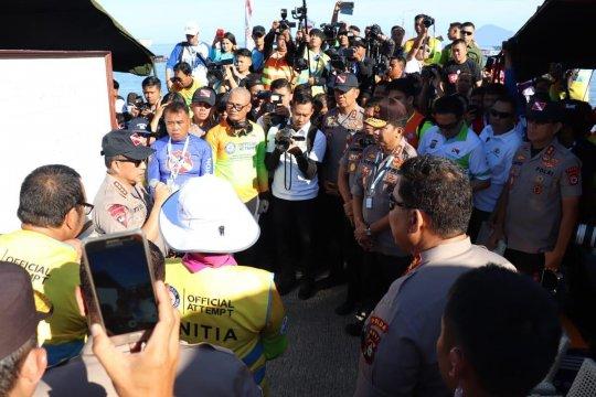 Kapolri: Pemecahan rekor selam, nama Indonesia akan makin mendunia