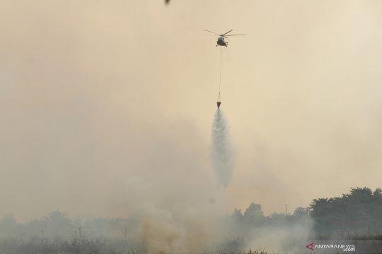 Kebakaran lahan di Ogan Ilir Sumsel
