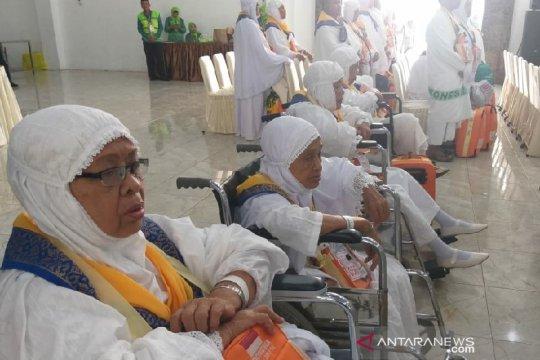 Lima jamaah haji isi kursi kosong kloter 21 embarkasi Medan