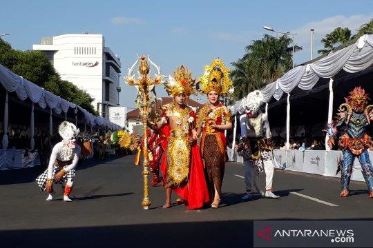 """Delapan daerah ikuti """"Wonderful Artchipelago Carnival Indonesia"""""""