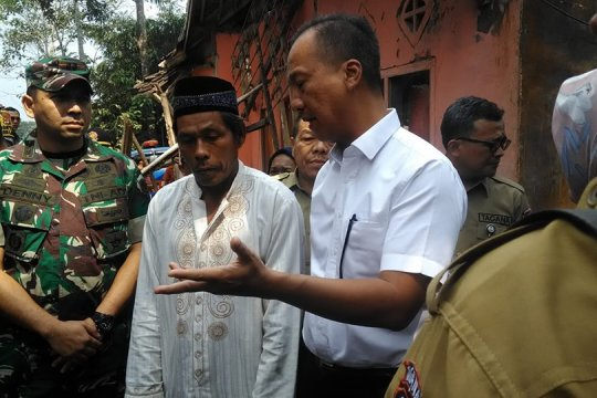 Mensos perkuat program kampung siaga bencana di Pandeglang
