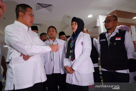 Amirul Hajj pesankan lima hal pada petugas kesehatan jelang wukuf