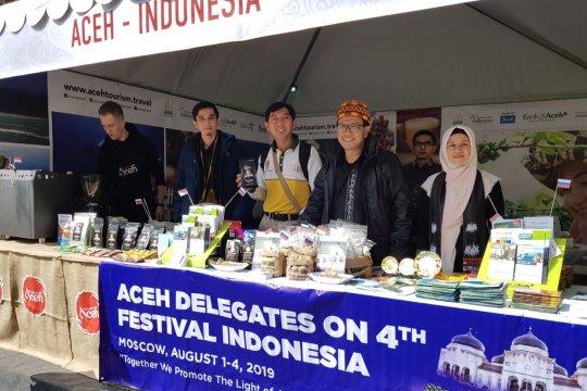 Pemerintah Aceh Promosi Potensi Unggulan di Moskow