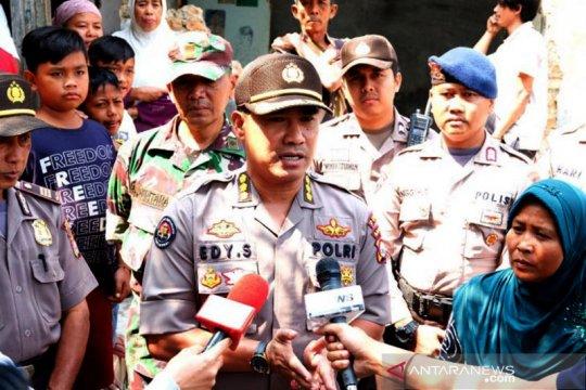 Polda Banten catat 139 unit rumah rusak akibat gempa