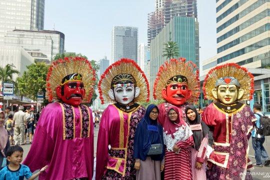 Tingkat kualitas udara di area CFD Jakarta sempat membaik