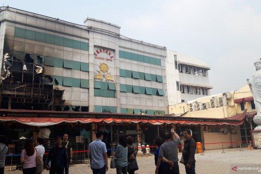 Pengurus belum ketahui jumlah kerugian kebakaran Vihara Ekayana