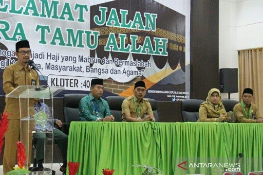 Kloter terakhir embarkasi Makassar diberangkatkan ke Mekah