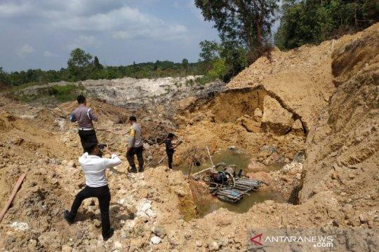 Dua korban kecelakaan tambang di Bangka Barat berhasil dievakuasi