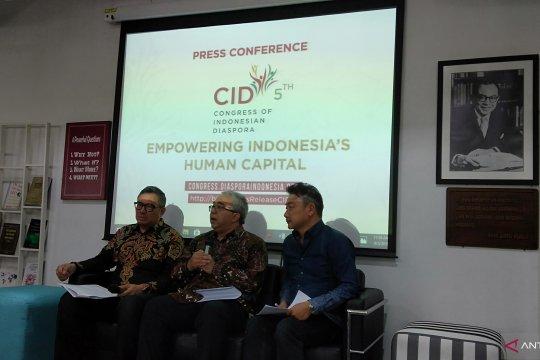 Kongres Diaspora Indonesia kelima digelar selama tiga hari
