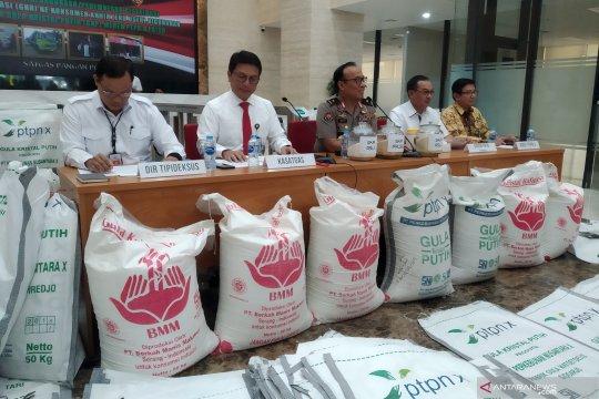 Satgas Pangan tangkap lima tersangka kasus gula rafinasi