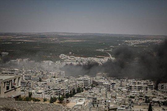 Presiden Turki: zona aman Idlib Suriah perlahan hilang