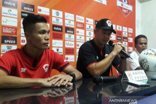 Gomes benahi pertahanan Kalteng Putra jelang lawan Arema
