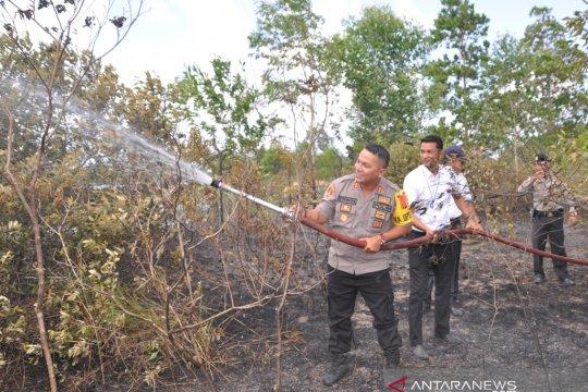 Pelaku pembakaran hutan di Belitung Timur diancam dipenjarakan