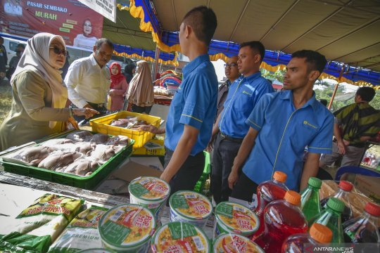Pasar murah jelang Idul Adha 1440 H