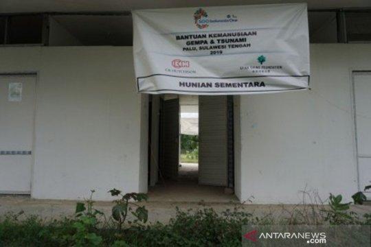 Ribuan bilik hunian sementara di Palu, Sigi dan Donggala belum terisi