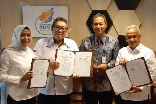 Indra Karya dukung optimalisasi layanan ASDP dan Jasa Tirta II