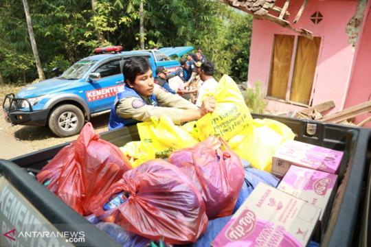 Kemensos verifikasi nama ahli waris korban tewas gempa Pandeglang