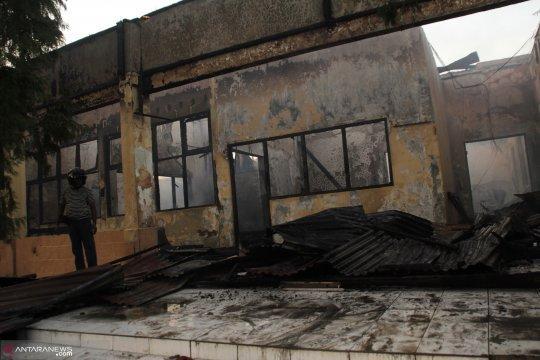 Kerugian akibat terbakarnya gedung di Polda ditaksir capai Rp10 miliar