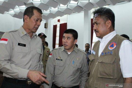 Kepala BNPB minta Lanud Supadio sigap atasi karhutla dari udara