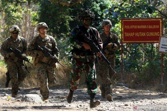 Marinir Indonesia dan Amerika Serikat gelar latihan bersama