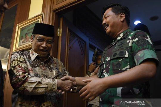 Panglima TNI berkunjung ke PBNU