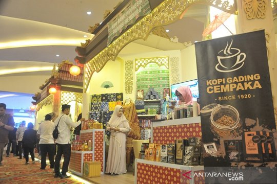 Transaksi Festival Ekonomi Syariah Sumatera 2019 tembus Rp2,1 triliun