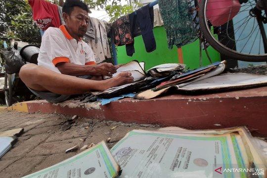 Korban kebakaran Pulo Gundul cari sisa dokumen berharga