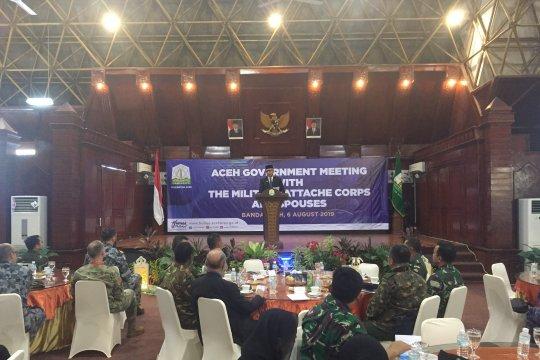 Gubernur Promosikan Wisata Aceh ke Rombongan Atase Militer