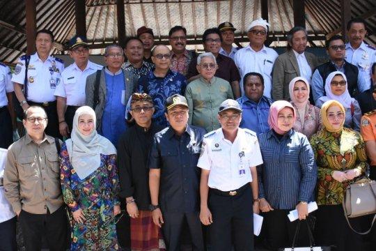 Komisi V DPR tinjau lokasi pembangunan Pelabuhan Sanur