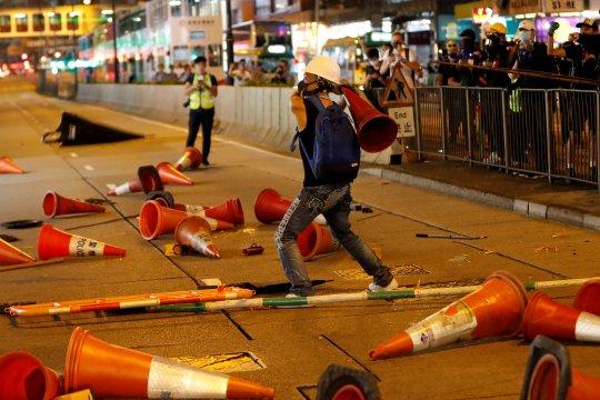 China kepada politikus AS: hentikan persekongkolan separatis Hong Kong